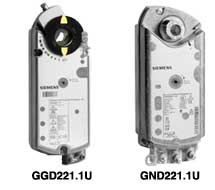 Fire and Smoke Damper Actuators GND, GGD Series