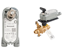 Honeywell Spring Return Direct Coupled Actuators Diamond Series