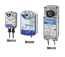 Direct Coupled Actuators-Spring Return M9200 Series