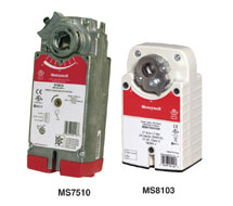 Direct Coupled Actuators Spring Return MS Series