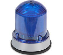 XTRA-BRITE Single Color LED Flashing or Steady Beacons 125XBR Series
