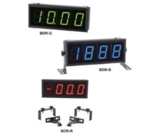 Kele Big Display Readout, 3-1/2 Digit LED, Red/Blue/Green BDR Series