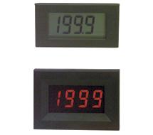 Kele 3-1/2 Digit Small Black/Red Panel Display LPI-5