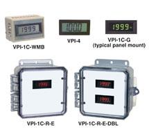 3-1/2 Digit LCD Panel Display VPI Series