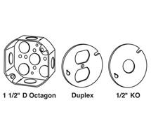 Octagonal Boxes 8BX Series