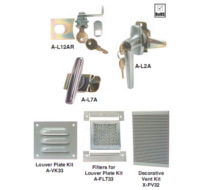 Hoffman Enclosure Accessories Locks, Latches, Ventilation, Heating, Cooling