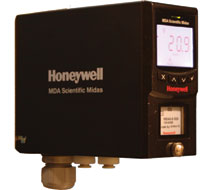 Honeywell Analytics Single Zone Ammonia Gas Monitor MIDAS-K-NH3