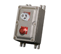 Kele Pre-assembled explosion proof enclosures with lights and switches EXP Series