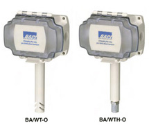 BAPI Wireless OSA Temperature & Humidity Transmitters BA/WT-O, BA/WTH-O