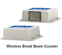 Wireless Break Beam Counter and Door Switch BA/WBB and BA/WDS