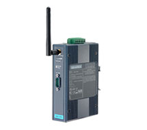 Wireless RS-232/422/485 to 802.11b/g WLAN Serial Device Server EKI-135X Series