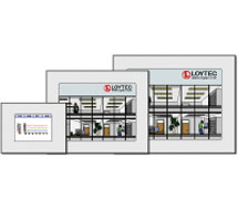 BACnet, LON and Modbus Touch Panel	 L-VIS Series