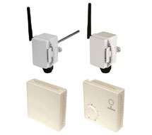 SonNet Wireless Temperature,Humidity and CO2 Sensors RF-RS Series
