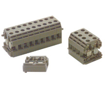 ContraClip Panel Mount Terminal Blocks BKA/1