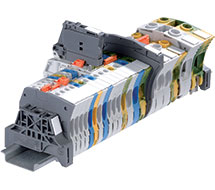 ABB SNK Series DIN Rail Terminal Blocks ZS6, ZS10