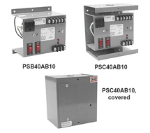 FUNCTIONAL DEVICES PSB40AB10, PSB100AB10, PSC40AB10, PSC100AB10