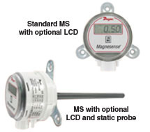Multi-Range Differential Pressure Transmitter MS Series