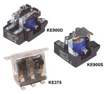 Power Relays KE375, KE900 Series