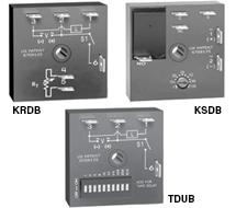 Delay-on-Break Timing Relays KRDB, KSDB, TDUB Series