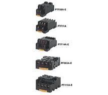 Omron Relay Sockets P2RF, PF, PTF Series