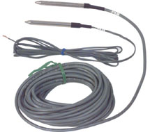 Precon Stainless Steel Sheath Thermistor and RTD Sensors ST-R*S, ST-R*SC Series