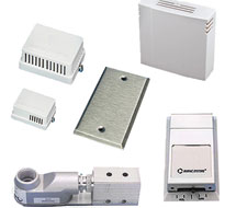 MAMAC Systems Wall Thermistor and RTD Sensors TE205 Series