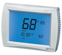 Digital Display Programmable Thermostats T4000, T8000, and T12000 Series Thermostats
