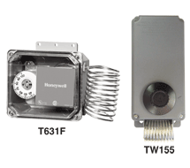 NEMA 4X Rated Thermostats T631F/G, TW155/255 Series