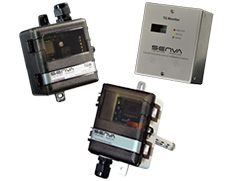 Senva Dual Toxic Gas Sensor and Controller TG UL Series Wall and Duct