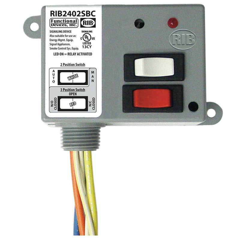 functional devices rib2401b relays. Black Bedroom Furniture Sets. Home Design Ideas