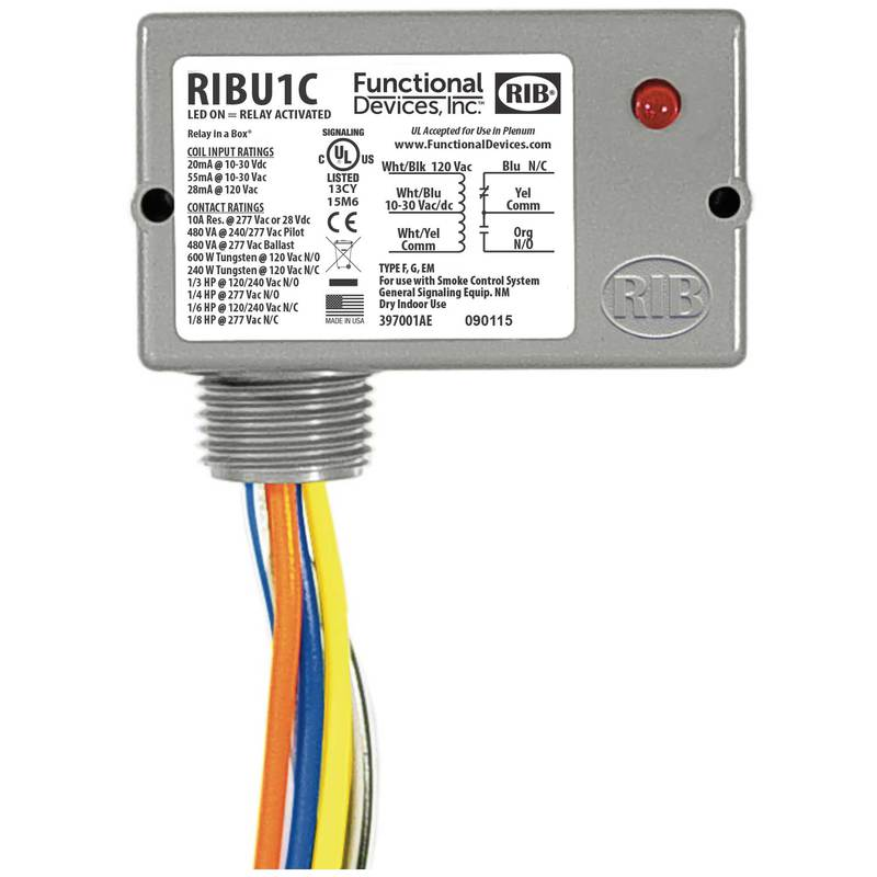 Kele Com Functional Devices Ribu1c Relays Contactors